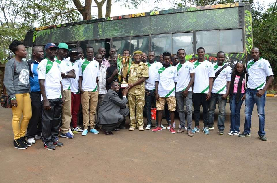 Gor Mahia players and officials were on Tuesday treated to luncheon by KWS