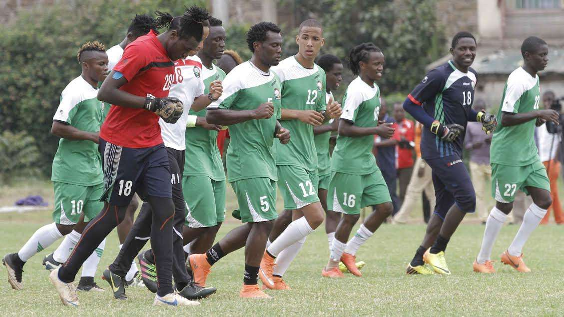 Harambee Stars stepped up their preparations as they get ready to take on Republic of Congo on Sunday
