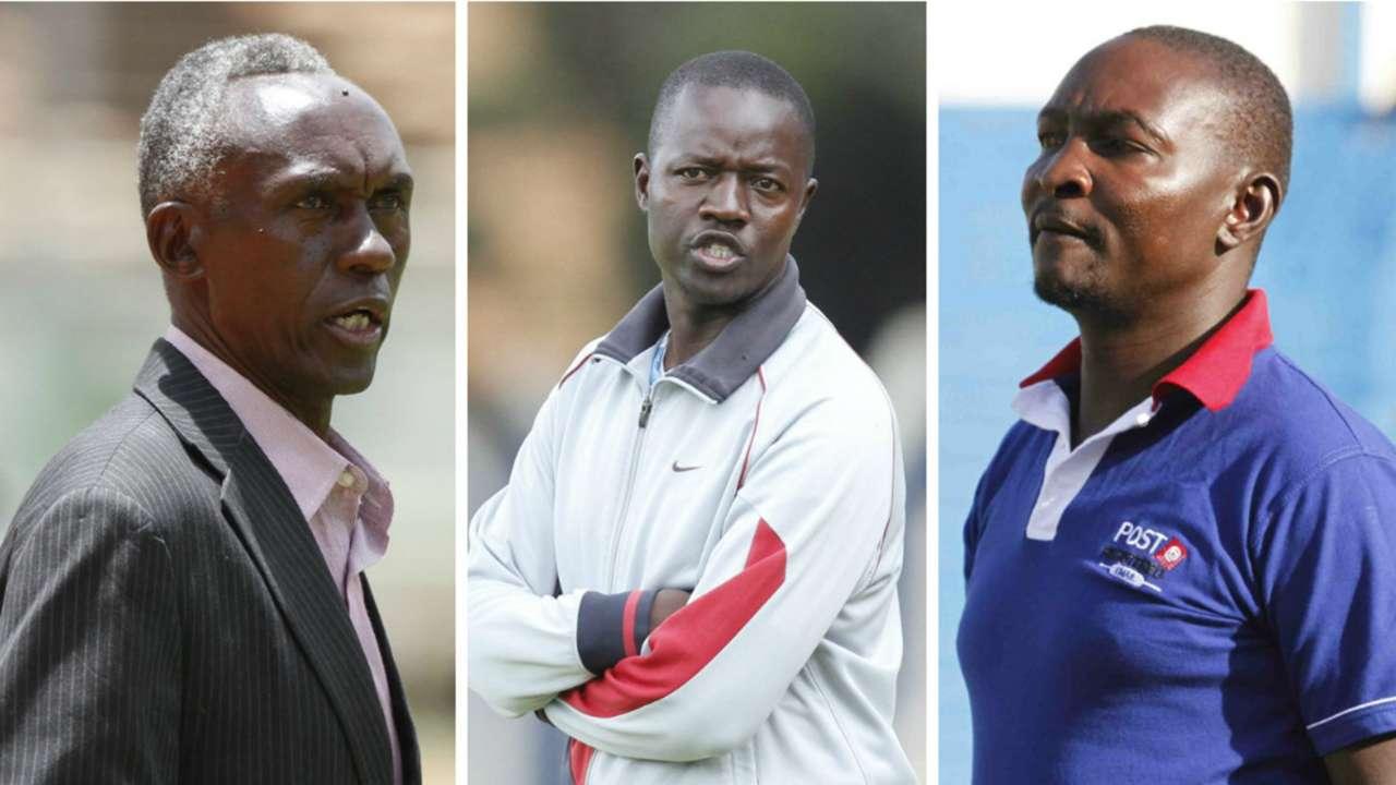 KPL coaches - Otieno Ouma and Omino