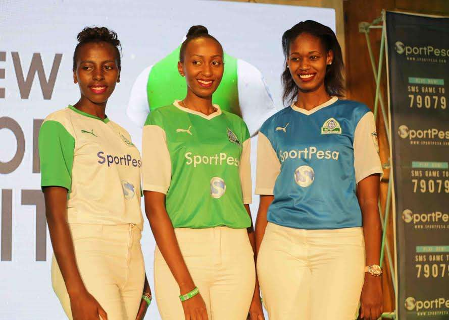 Gor Mahia on Friday unveiled a new puma kit and SportPesa sponsorship for the next five years