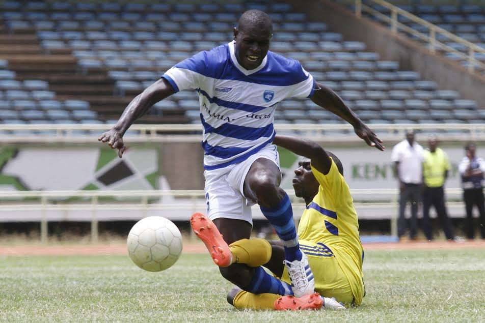 Michael Khamati has signed for Tusker FC from AFC Leopards