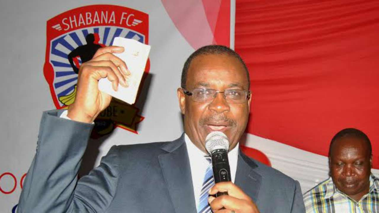 Chief Guest Nairobi Governor Evans Kidero helped raise Sh4.1 million for newcomers Shabana FC