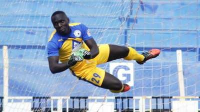 Sofapaka goalkeeper David Okello in a past league action