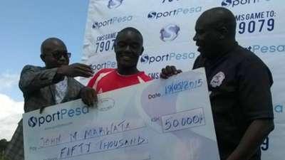 Ulinzi Stars midfielder John Makwatta named April Player of the Month