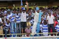 AFC Leopards fans at Kasarani Stadium