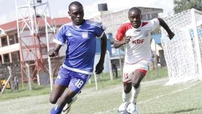 John Makwatta of Ulinzi Stars vs. Nairobi City Stars