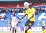 Tusker midfielder Humphrey Mieno v Sofapaka on Saturday