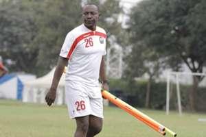 Assistant coach John Kamau