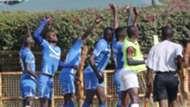 Nakumatt FC celebrate v Nzoia Sugar