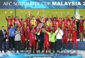 Nepal 2016 AFC Solidarity Cup champions