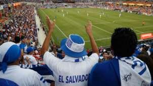 El Salvador fans Copa Oro