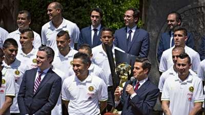 América en Los Pinos 29042016 Liga MX CONCACAF