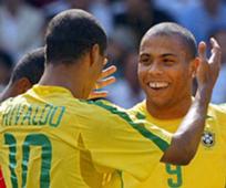Rivaldo y Ronaldo