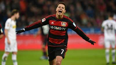 Bayer Leverkusen Chicharito 121215