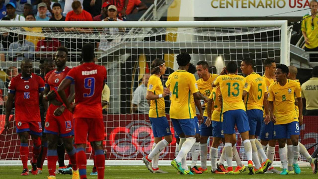 Brasil vs Haití, Copa América, 080616