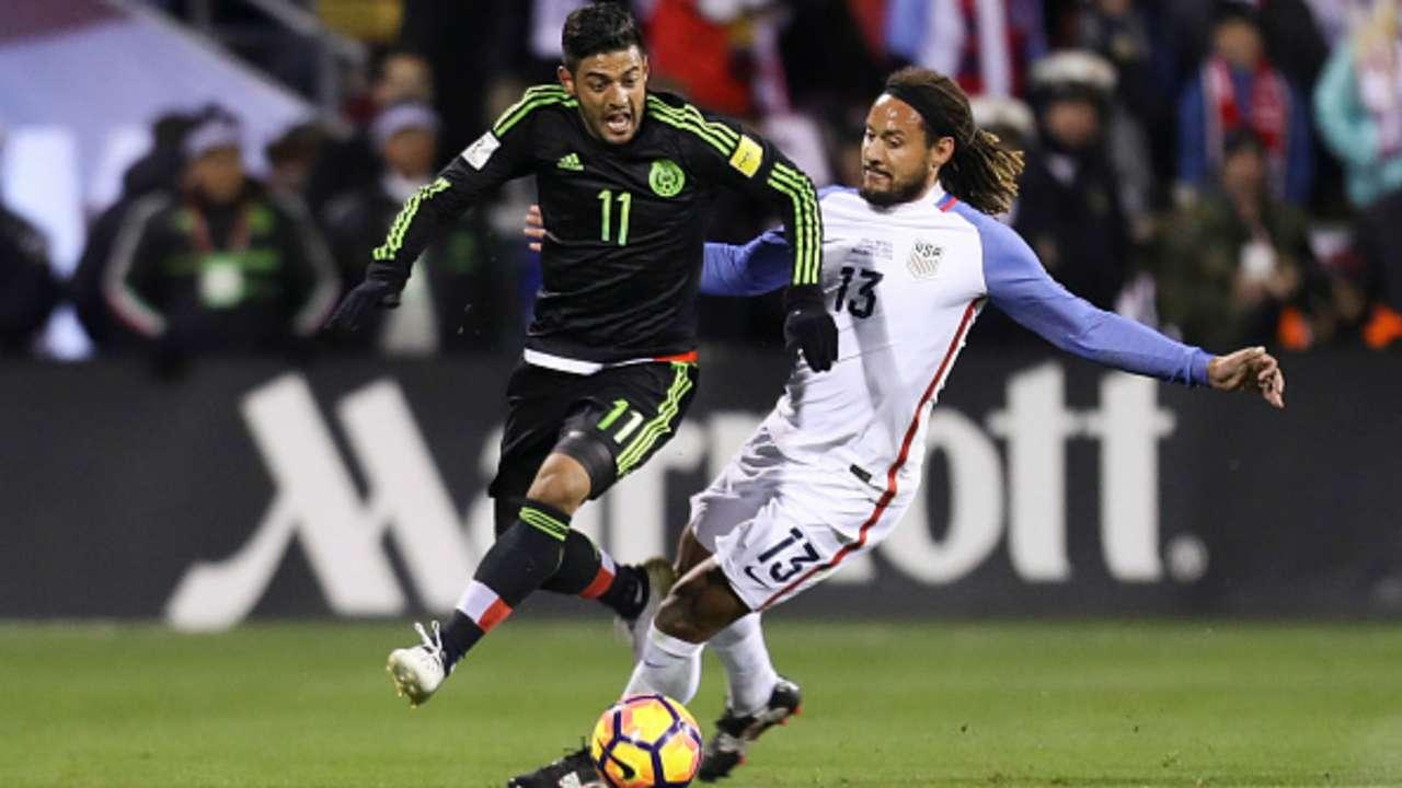 Carlos Vela México Estados Unidos Columbus 11112016