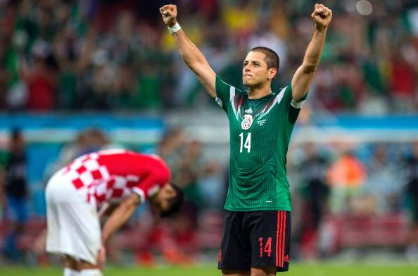 Javier Hernández World Cup 062014