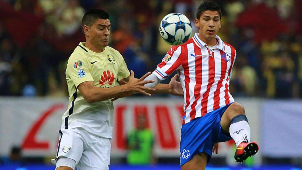 Paolo Goltz Ángel Zaldívar América Chivas 251016