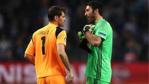Casillas, Buffon
