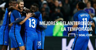 Los mejores delanteros franceses