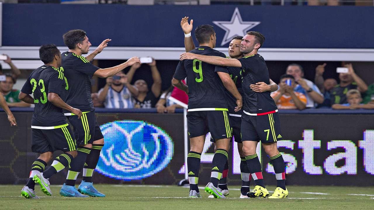 Argentina v Mexico 08092015 Friendly match