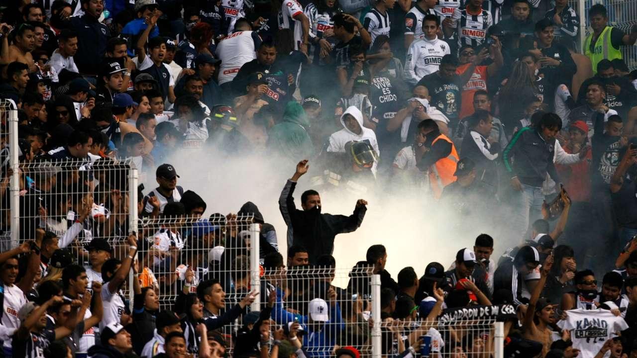 Afición de Monterrey
