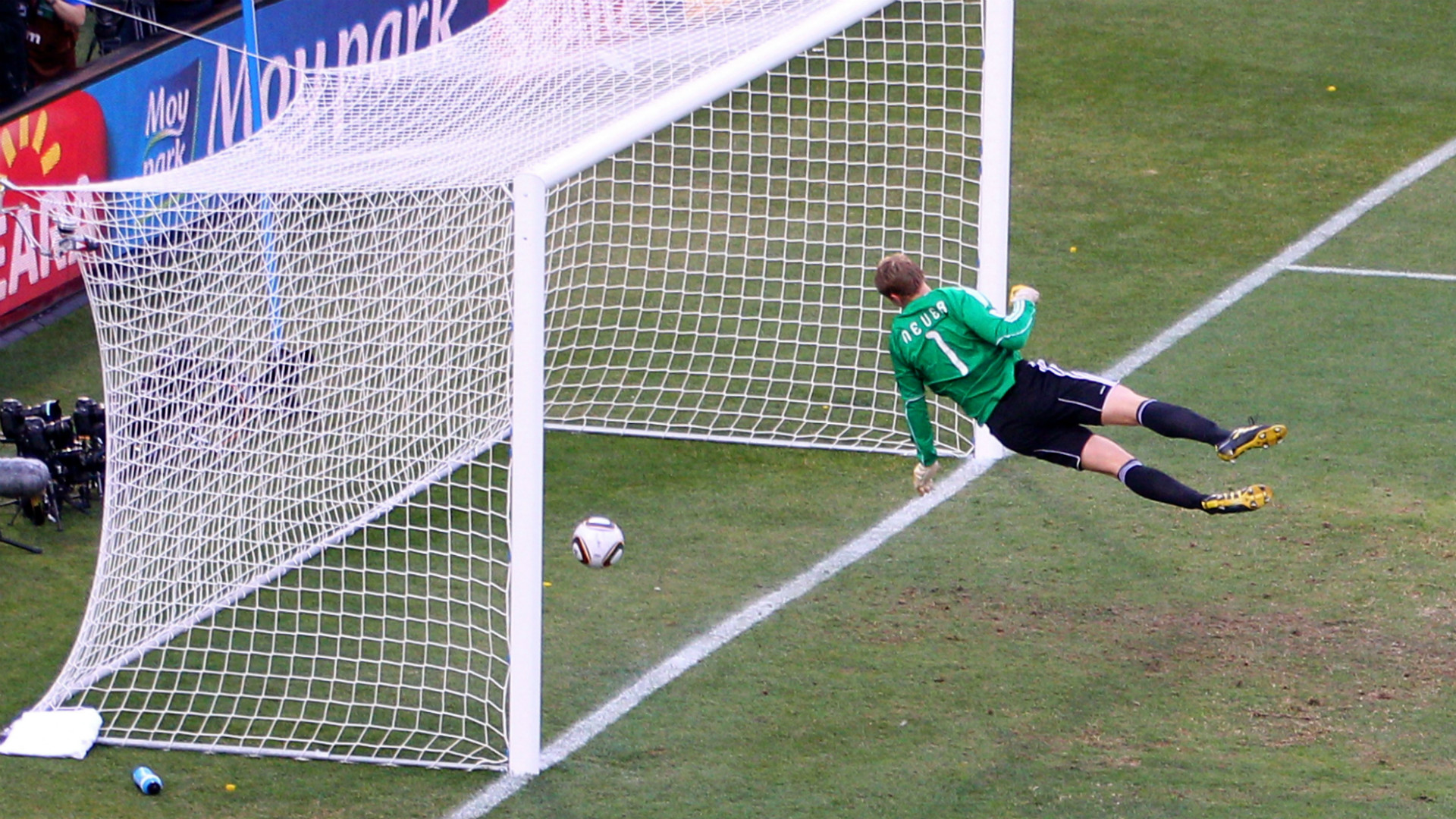 Lampard ghost goal England - Germany WC2010