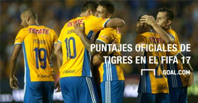 Puntajes Tigres FIFA 17