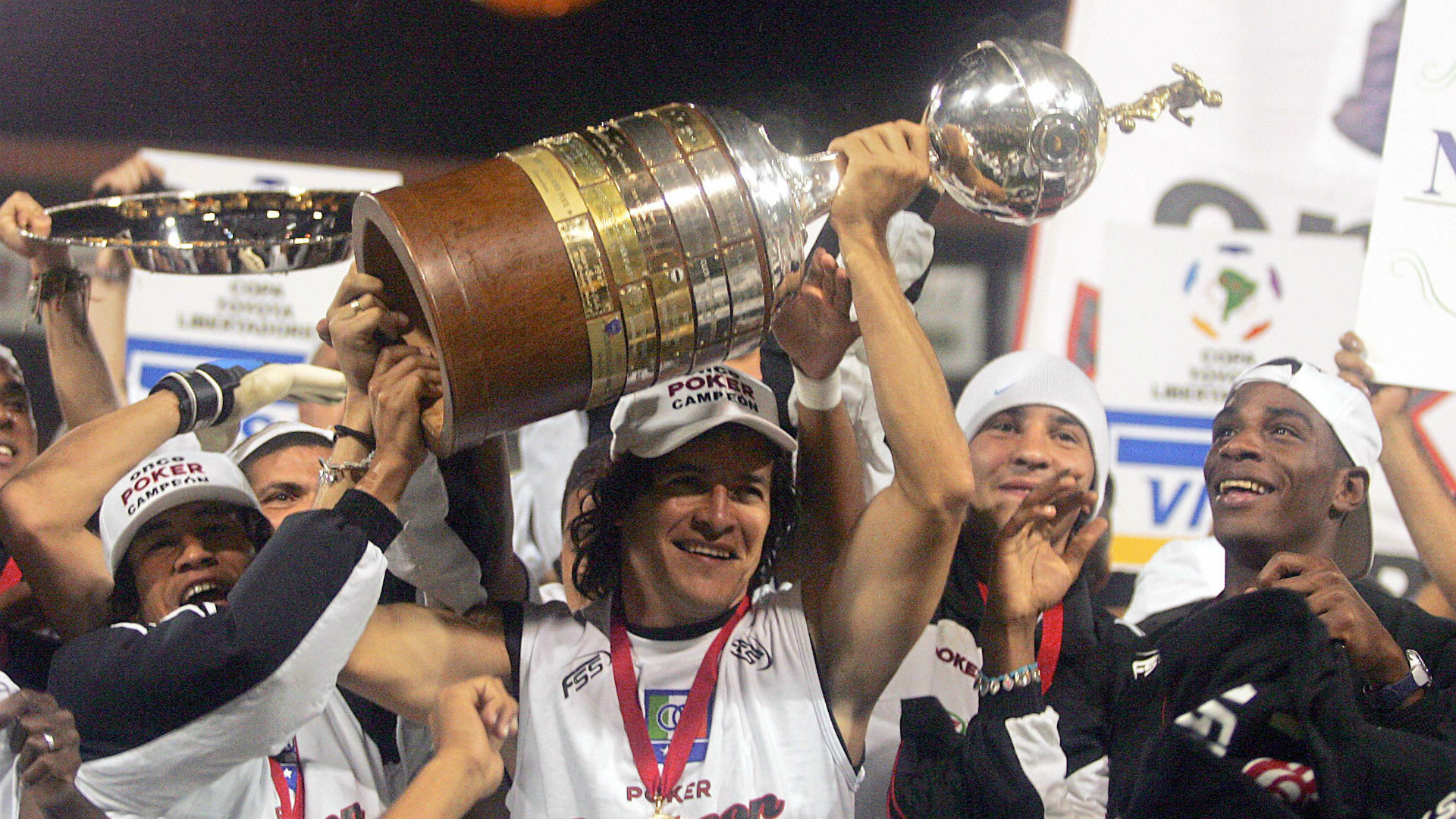Once Caldas Copa Libertadores champions 2004