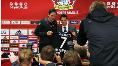 Javier Hernández Bayer Leverkusen