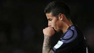 James Rodríguez Real Madrid Mundial de Clubes 2016 15122016