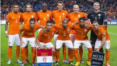 Netherlands Kazakhstan Euro 2016 Qualifier 10102014