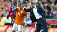 Wesley Sneijder Danny Blind Netherlands Iceland 09032015