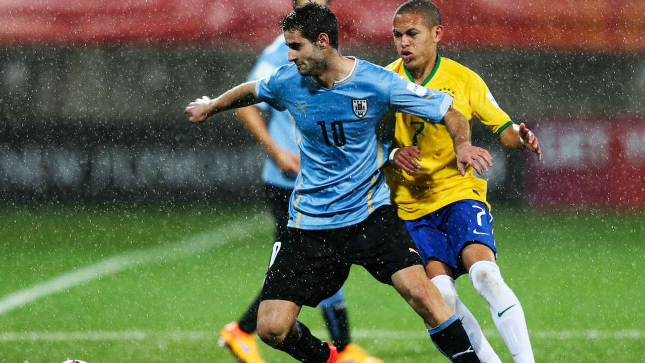 Gaston Pereiro Uuguay U20 Nacional