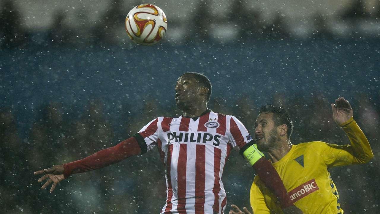 Estoril - PSV, Georginio Wijnaldum, Europa League, 27112014