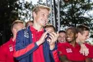 Frenkie de Jong, Willem II, Eredivisie, 26082015