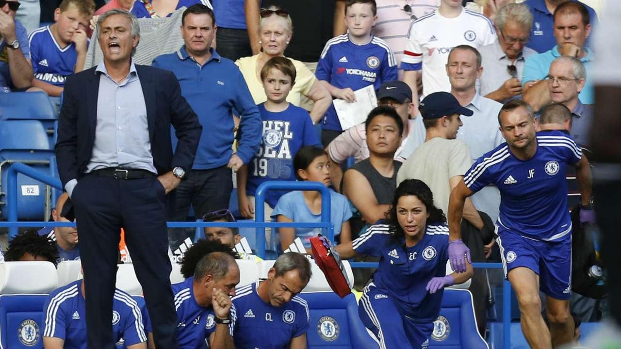 Mourinho Carneiro Fearne Chelsea Premier League
