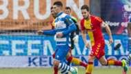 Danny Holla, PEC Zwolle vs. Go Ahead Eagles, 10302016
