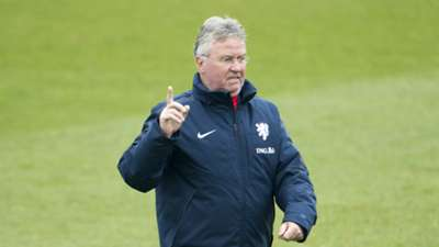 Guus Hiddink Oranje Netherlands training 03262015