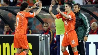 Ruud van Nistelrooy Robin van Persie Netherlands Oranje