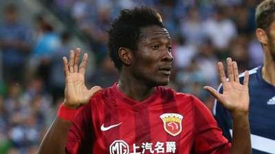 Asamoah Gyan of Shanghai SIPG