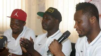 Ahmed Musa, Samson Siasia, John Obi Mikel