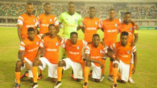 Akwa United line up