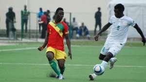 M Thiam, Ifeanyi Matthew - Nigeria vs Guinea CHAN 2016