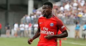 Serge Aurier of Paris Saint Germain