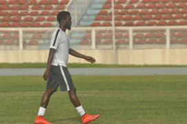 Rabiu Ibrahim - Nigeria training 150610