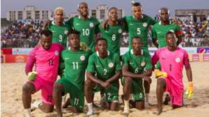 Nigeria beach soccer team