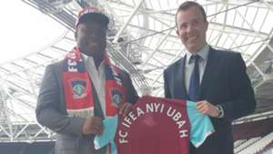 Ifeanyi Ubah and West Ham reach agreement
