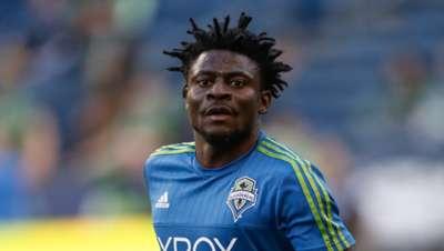 Obafemi Martins of Seattle Sounders