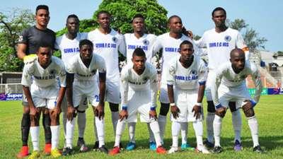 Giwa FC line up 20032016